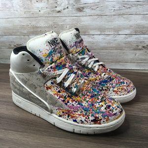 Nike Air Python Custom Paint Splatter Sneaker